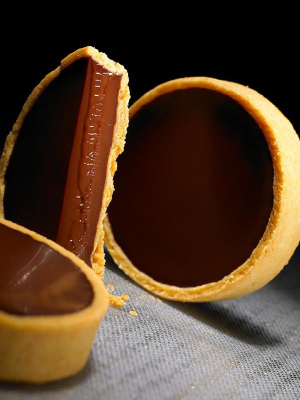 Mörk chokladtarte - Valrhona