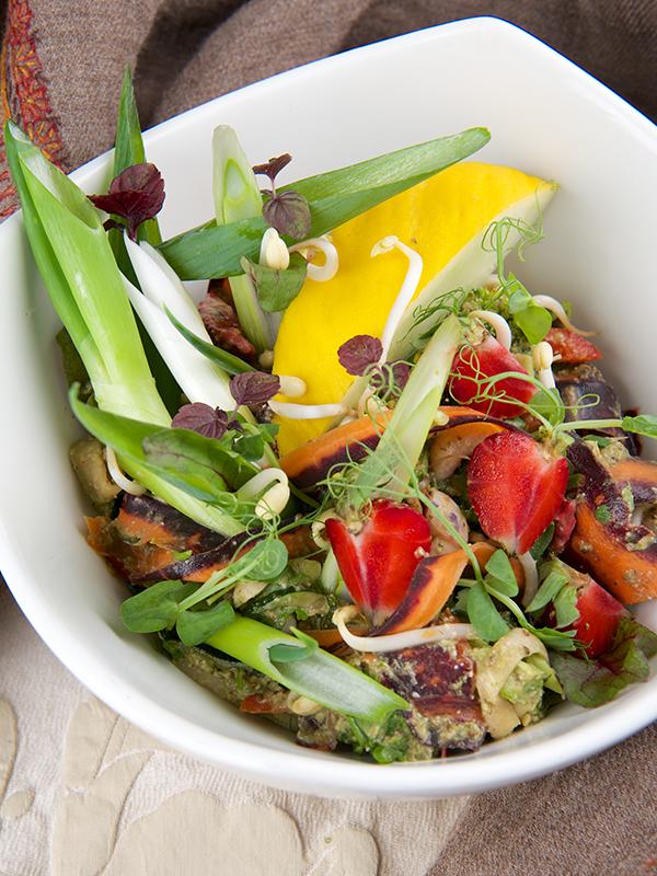 Raw thai wok